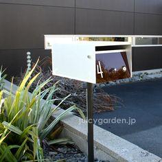 都市型おしゃれな郵便受けとしても、北欧シンプルな郵便受けにもオススメの「アーバンポスト」。スタンドセットでお買い得!