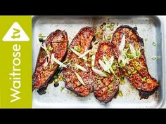 Sichuan Soy And Chilli Roasted Aubergines   Waitrose - YouTube