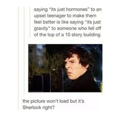 I love how we can just tell that they used a sherlock picture