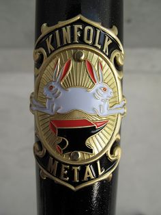 Kinfolk head tube badge