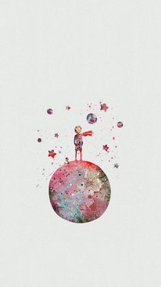 The Little Prince Watercolor Art Poster Print, Baby Nursery Art, Kids Decor, Minimalist Home Decor Not Framed, Buy 2 Get 1 Free! Baby Nursery Art, Disney Nursery, Room Baby, Beauty In Art, Minimalist Home Decor, Minimalist Style, The Little Prince, Kids Decor, Unique Art
