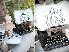 Great site. So many wedding DIYs and ideas for everything from guest books to bouquets to stationary!