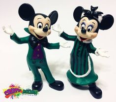 Meet and Greet Haunted Mansion Minnie and Mickey Mouse by Create-A-Mations