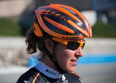 Wilcoxson's helmet shattered during her accident, potentially saving her life. (Jen See) Cool Bike Helmets, Bicycle Helmet, National Champ, Pro Cycling, Sports Illustrated, Cool Bikes, Champs, Trail, Lifestyle