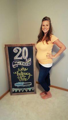 20 week chalkboard