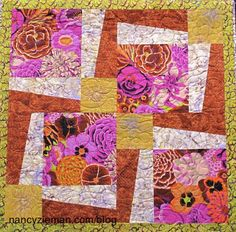 """Big Block quilts, 18"""" squares, are the quickest way to make quilts. Watch the second episode of """"Sew Big Block Quilts"""" on """"Sewing With Nancy."""" Nancy Zieman and guest, Debbie Bowles of Maple Island Quilts detial this block called BQ3."""