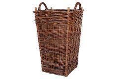 Grape Picker's Basket on One Kings Lane