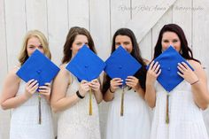 Best Friend Group Graduation Picture : cap and gown, barn, country, friends, idea