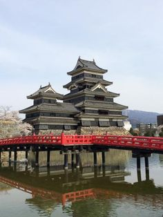 I visited Matsumoto Castle 松本城 in Japan while there was sakura in the spring. See my trip on Ramblr @ http://rblr.co/C1wB. Photo & trip by SummerRamblr.
