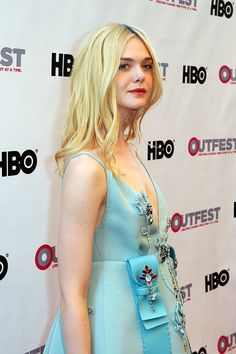 Elle Fanning Photos Photos - The Opening Night Gala of 'Tig' at the 2015 Outfest Los Angeles LGBT Film Festival - Red Carpet - Zimbio