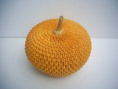 3D Origami - Origami Pumpkin