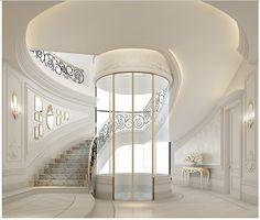 ionsdesign - Private villa interior design | Staircase - elevator area