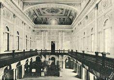 Saguão da Estação da Luz em 1903