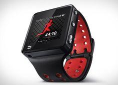 Melhores gadgets para saúde e fitness. Relogio motorola motoactv #gadgets #saude #fitness