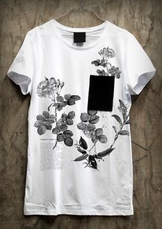 Estampa Localizada / Sense Studio #flowers #botanical #t-shirt #tee #design #graphic #sensestudio