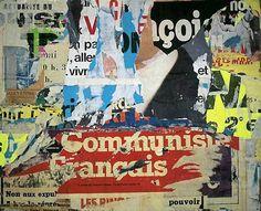 'Rue de Bretagne' by Jacques Villeglé, 1979