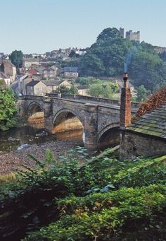 Richmond, Yorkshire - visited here earlier in May, absolutely beautiful place.