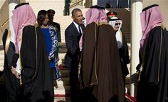 Michelle Obama Discards Headscarf In Saudi Arabia - https://twitter.com/tsbrenterprises/status/560657218995900416