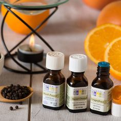 Black Pepper and Sweet Orange Essential Oil Diffusion