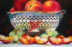 My Mothers Bowl by Anne Abgott | Award-Winning Watercolor Artist