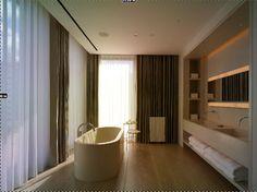 Concreteworks Bathtub & Sink - modern - Bathroom - New York - Concreteworks