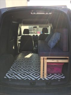 24874d2559 VW caddy camper completed with matress now