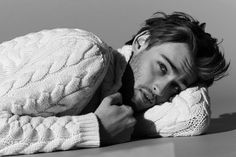 Douglas Booth by Jason Hetherington for Harrods Man magazine