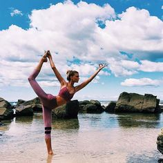 Get inspired to explore and try your yoga moves in nature once you see these beautiful photos.