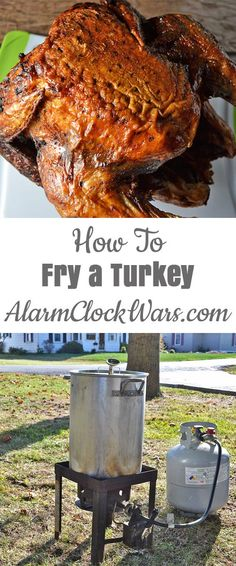 How to fry a turkey. Do you want to fry a turkey, but aren't sure how to do it? I have all the equipment, preparation, and safety tips you need. Find out how to fry a turkey, try something new this holiday season.