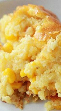 Sweet Corn Spoonbread.