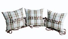 Home Sweet Home Mountains Heart Collection by MonartHomeDecor, $49.00; pillow, home decor, pillows set
