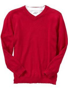 Boys V-Neck Sweaters   Old Navy