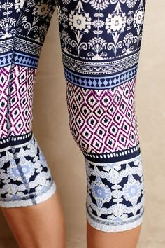 Ukiyo Cropped Leggings #anthrofave
