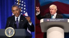 Boris v Barack: London mayor accuses Obama of Brexit hypocrisy http://ift.tt/1RJcT9o   Mayor of London Boris Johnson has called US President Barack Obamas intervention in the EU referendum debate a piece of outrageous and exorbitant hypocrisy because the US protects its own sovereignty with hysterical vigilance.Read Full Article at RT.com Source : Boris v Barack: London mayor accuses Obama of Brexit hypocrisy  The post Boris v Barack: London mayor accuses Obama of Brexit hypocrisy appeared…