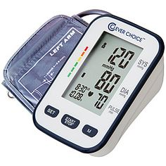 Monitor with wide-range upper-arm cuff provides clinically accurate blood-pressure readings!