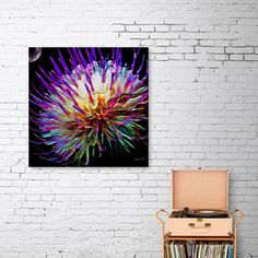 Discover «Blooming Out», Limited Edition Canvas Print by Glink - From $75 - Curioos