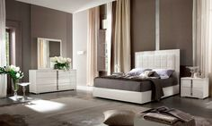FELUNI - Imperia Bedroom suite Italian Made by ALF Italia @feluni