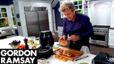 Philips Airfryer Gordon Ramsay Turkey Sliders Recipe - YouTube