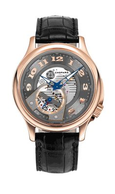 Chopard LUC Limited Edition 18k Rose Gold Silver Dial Mens Watch. List price: $16010