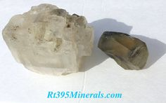 SALESet of Searles Lake Minerals Clear Halite & by Rt395Minerals
