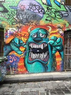 Melbourne Street Art Hosier Lane