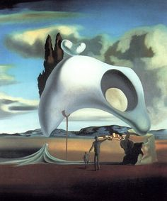 Atruistic Vestiges After the Rain by Salvador Dali, 1934