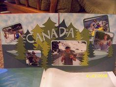 Canada scrapbook