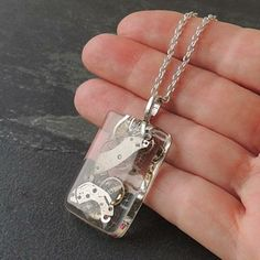 Watch Parts Resin Pendant £14.00