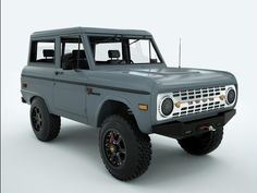 The new ICON Bronco is based on the 1966-1977 Ford Bronco. ICON Builds A Bronco - pg.1
