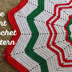 Christmas Tree Skirt – Crochet Pattern