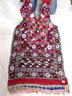Authentic vintage tribal banjara dress mirror by VishalHandicrafts, $85.00