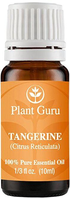 Tangerine Essential Oil 10 ml. 100% Pure Undiluted Therapeutic Grade.