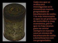 BICARBONATO - SUS PROPIEDADES