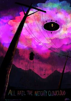 "Welcome to Night Vale Fan Art | 50 Pieces of Beautifully Strange ""Welcome to Night Vale"" Fan Art"